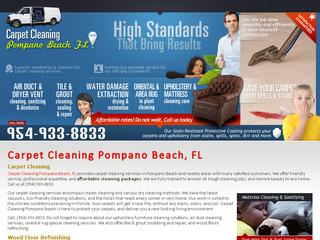 Carpet Cleaning Pompano Beach