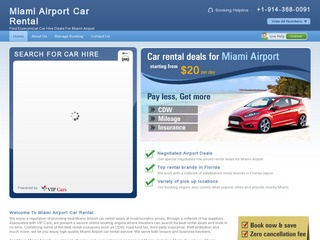 Car Rental Miami Airport