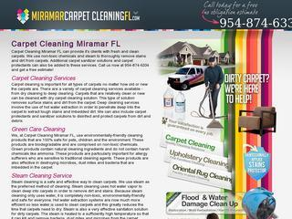 Miramar Carpet Cleaning FL