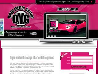 Omni Media Group Web Design Miami