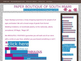 Paper Boutique South Miami