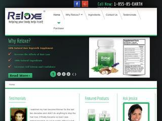 Reloxe - Natural Hair Regrowth Supplement