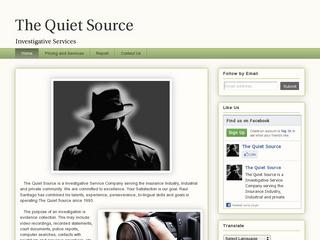 The Quiet Source